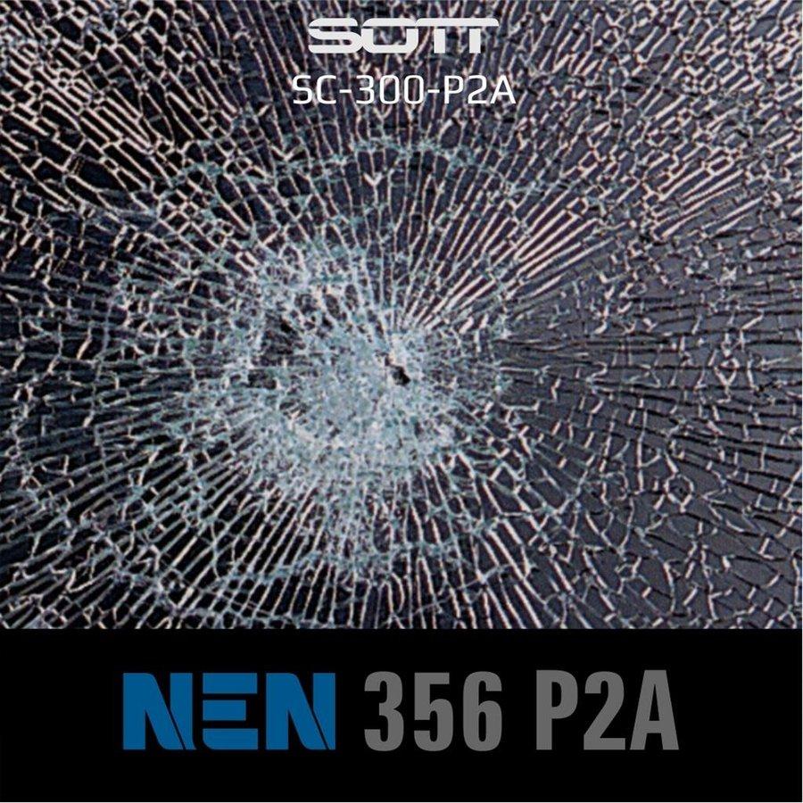 SC-300-P2A-182  Security300 P2A Glasklar EN 356 P2A -1-4