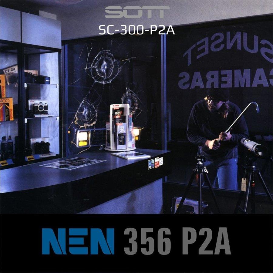 SC-300-P2A-182  Security300 P2A Glasklar EN 356 P2A -1-5