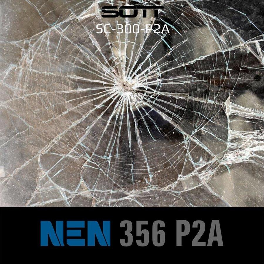 SC-300-P2A-182  Security300 P2A Glasklar EN 356 P2A -1-6