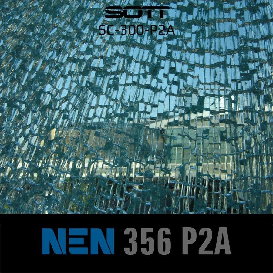 SC-300-P2A-182  Security300 P2A Glasklar EN 356 P2A -1-8