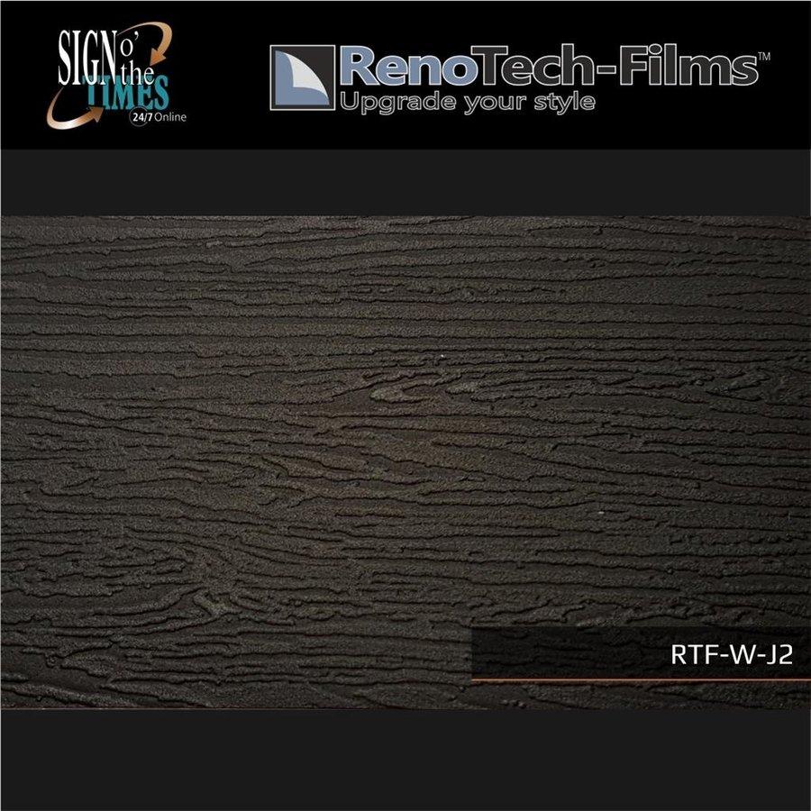 RTF-W-J2-122 Holzoptik schwarz strukturiert-3