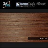 thumb-RTF-W-I11-122 Holzoptik Eiche braun strukturiert-2