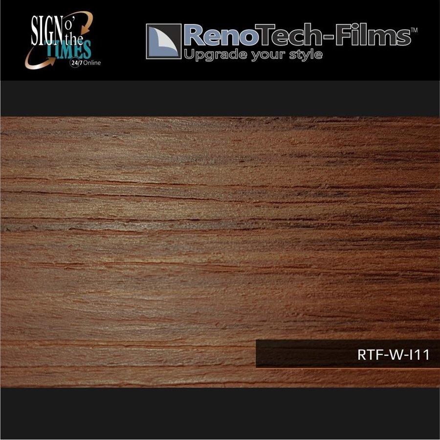 RTF-W-I11-122 Holzoptik Eiche braun strukturiert-2