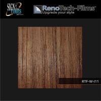 thumb-RTF-W-I11-122 Holzoptik Eiche braun strukturiert-3