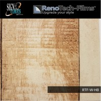 thumb-RTF-W-H8-122  Holzoptik Helles Ländliches Panel strukturiert-4