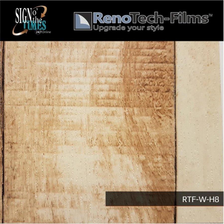 RTF-W-H8-122  Holzoptik Helles Ländliches Panel strukturiert-4