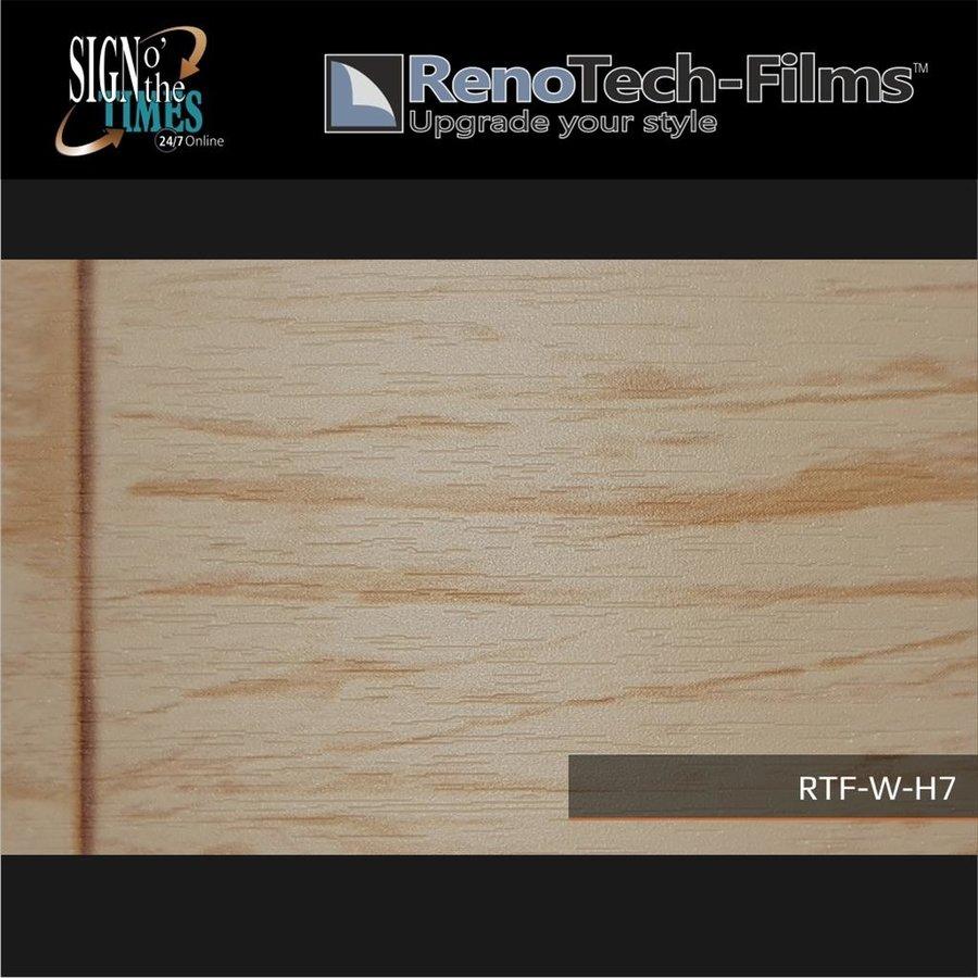 RTF-W-H7-122  Holzoptik Helles Vintage Panel strukturiert-2