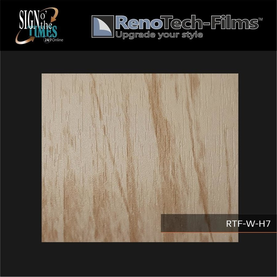 RTF-W-H7-122  Holzoptik Helles Vintage Panel strukturiert-3