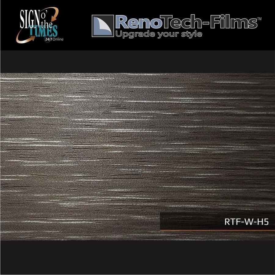 RTF-W-H5-122 Holzoptik Holz Silbergebürstet strukturiert-2