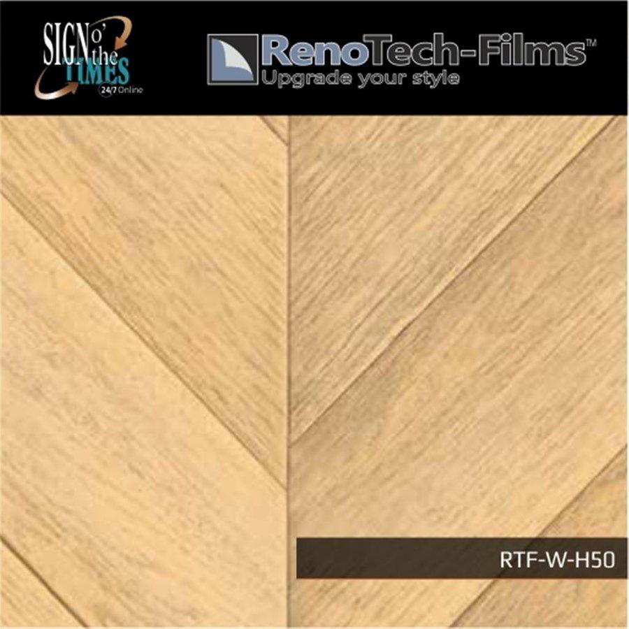RTF-W-H50-122  Holzoptik Helles Parket strukturiert-3