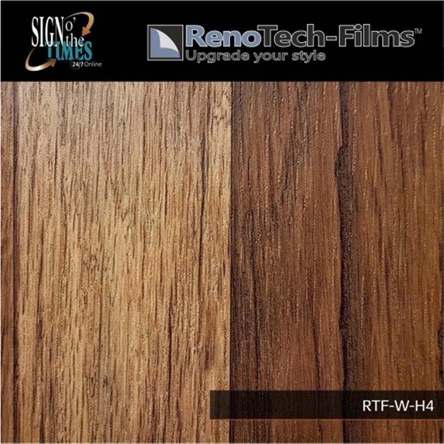 RTF-W-H4-122  Holzoptik Eiche Rustikal strukturiert-2