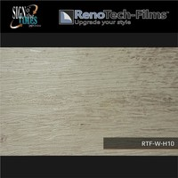 thumb-RTF-W-H10-122  Holzoptik Verblasste Graue Platte strukturiert-2
