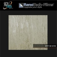 thumb-RTF-W-H10-122  Holzoptik Verblasste Graue Platte strukturiert-3