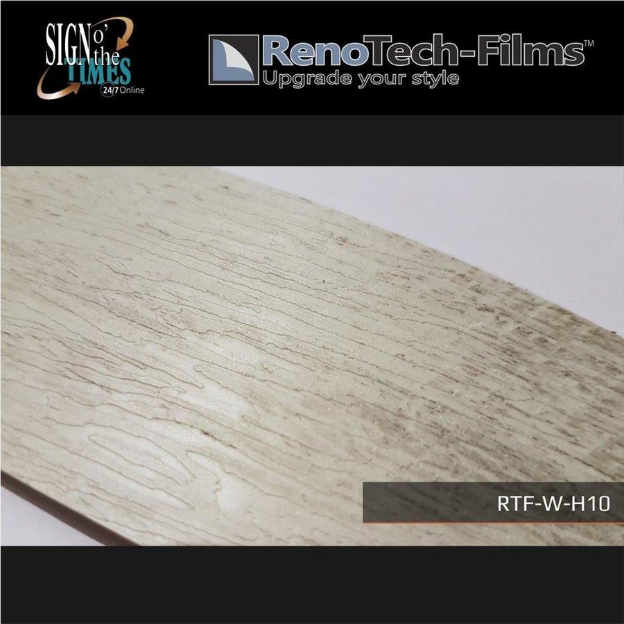 RTF-W-H10-122  Holzoptik Verblasste Graue Platte strukturiert-4