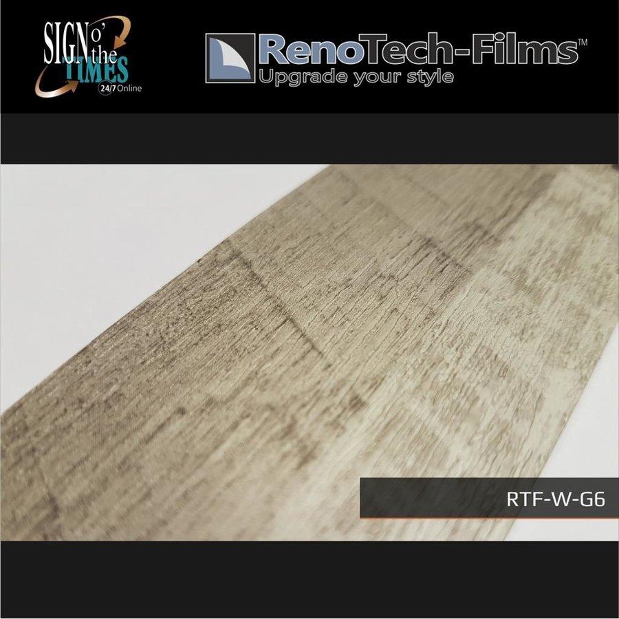 RTF-W-G6-122  Holzoptik Hell Graues Holz strukturiert-5
