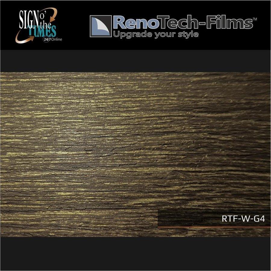 RTF-W-G4-122   Holzoptik Goldenes Finish strukturiert-2