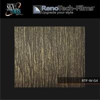 thumb-RTF-W-G4-122   Holzoptik Goldenes Finish strukturiert-3