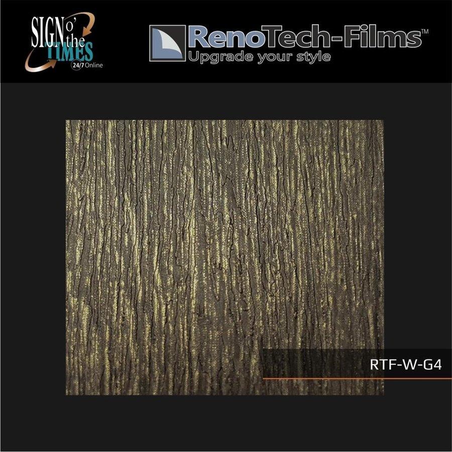 RTF-W-G4-122   Holzoptik Goldenes Finish strukturiert-3