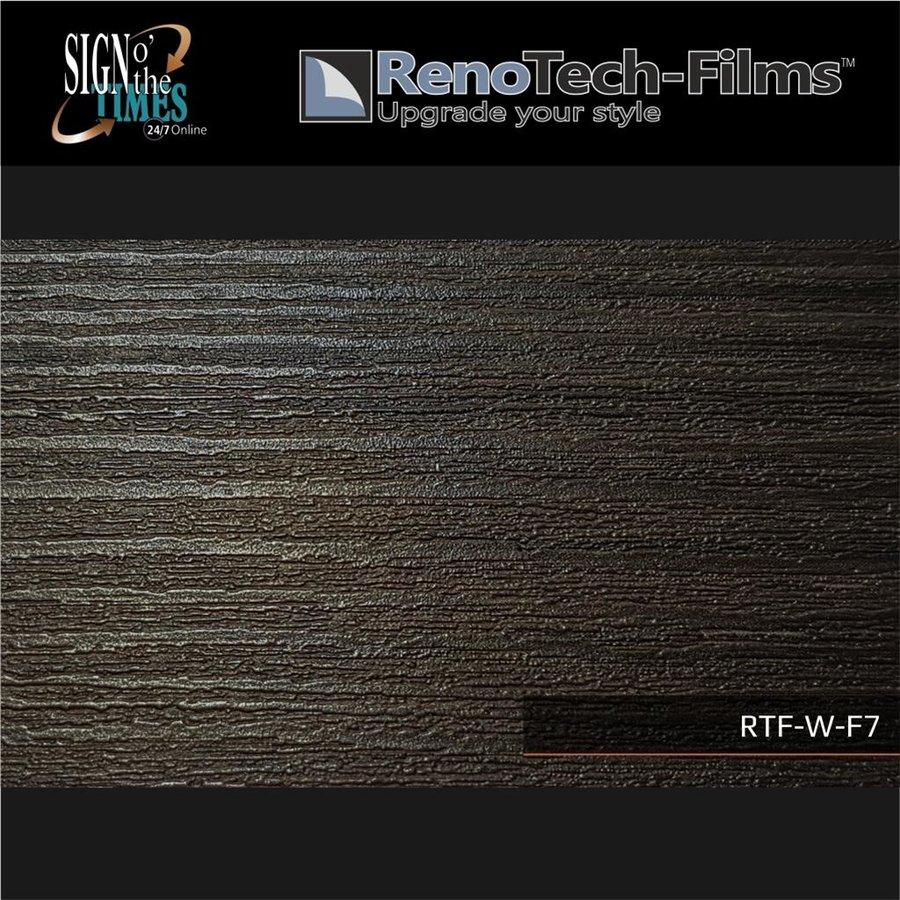 RTF-W-F7-122  Holzoptik Silber Schwarzes Holz strukturiert-2