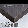Renotech RTF-W-F7-122  Holzoptik Silber Schwarzes Holz strukturiert