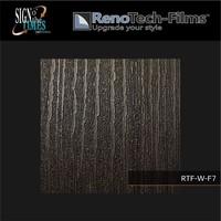 thumb-RTF-W-F7-122  Holzoptik Silber Schwarzes Holz strukturiert-3