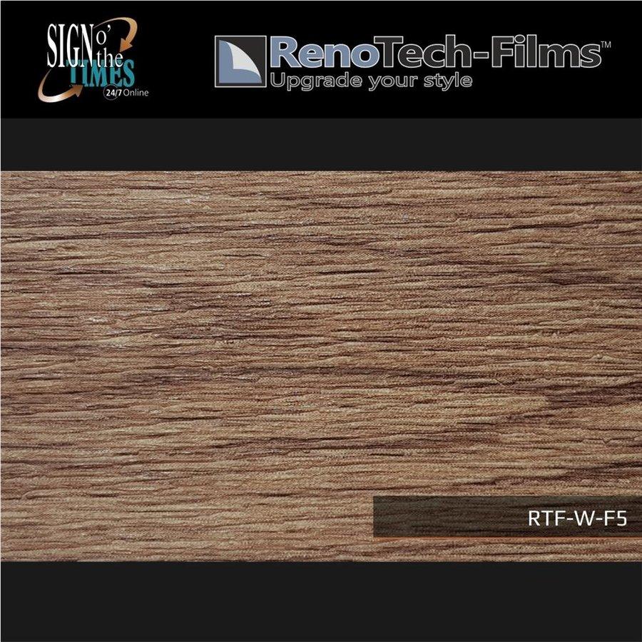 RTF-W-F5-122  Holzoptik Alte Eiche Dunkel strukturiert-4