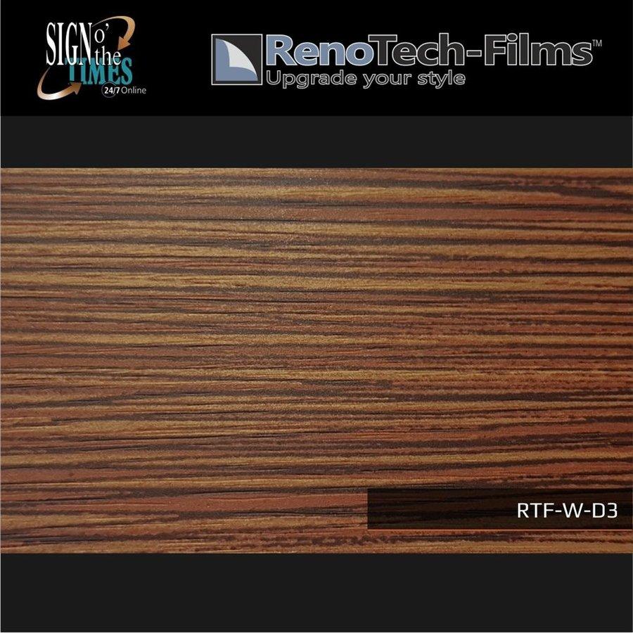 RTF-W-D3-122  Holzoptik Zebrano strukturiert-2