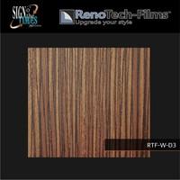 thumb-RTF-W-D3-122  Holzoptik Zebrano strukturiert-3