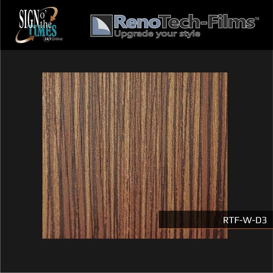 RTF-W-D3-122  Holzoptik Zebrano strukturiert-3