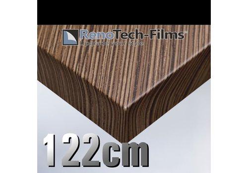 Renotech RTF-W-D3-122  Holzoptik Zebrano strukturiert