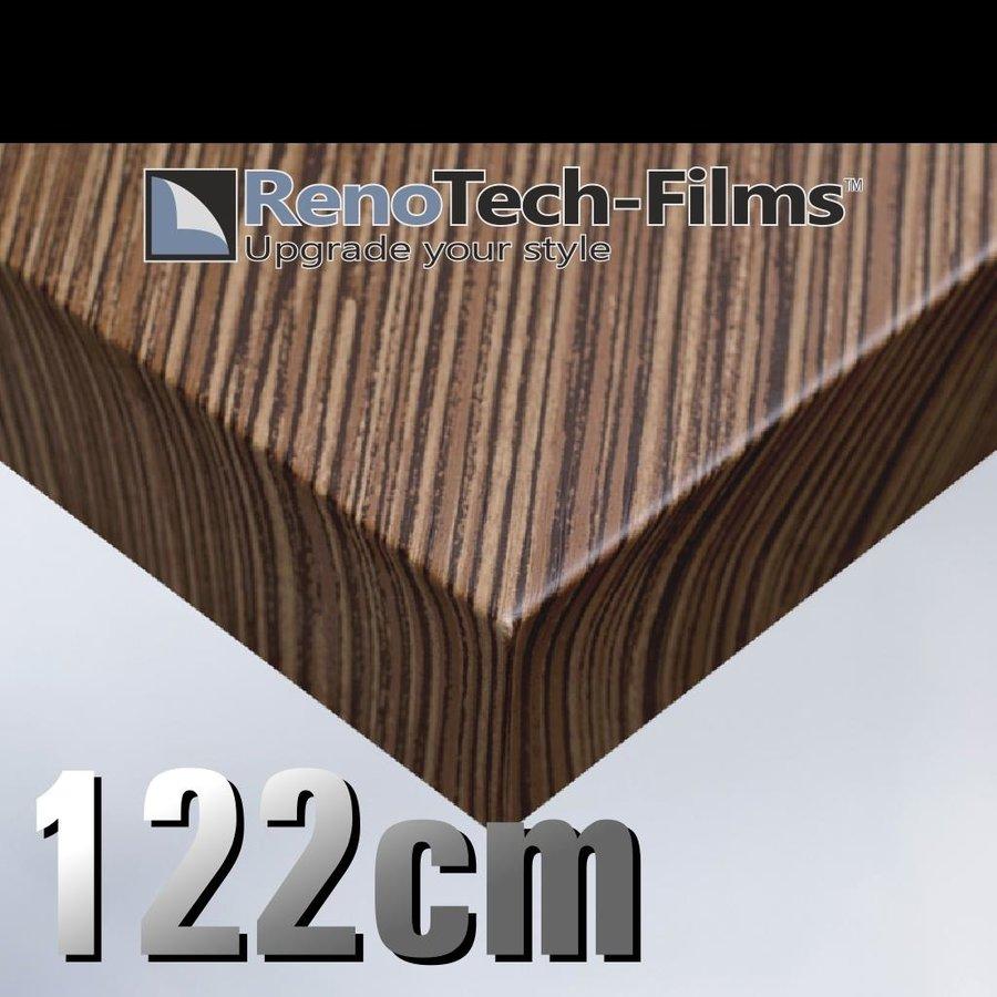 RTF-W-D3-122  Holzoptik Zebrano strukturiert-1