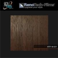 thumb-RTF-W-D1-122   Holzoptik Teakholz strukturiert-3