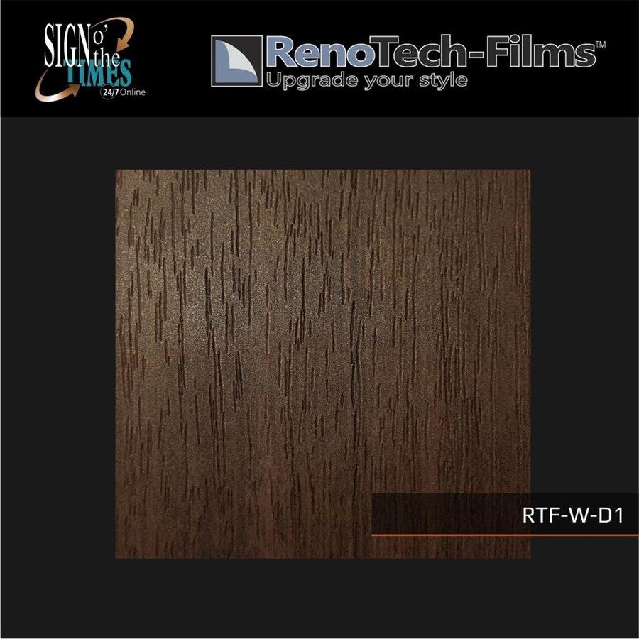 RTF-W-D1-122   Holzoptik Teakholz strukturiert-3