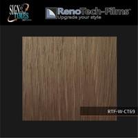 thumb-RTF-W-CT69-122 Holzoptik Holz Creme Braun strukturiert-2