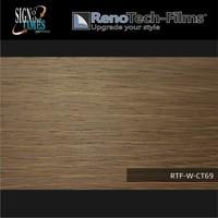 thumb-RTF-W-CT69-122 Holzoptik Holz Creme Braun strukturiert-3