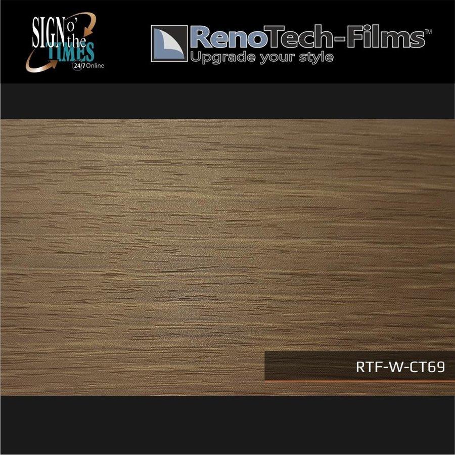 RTF-W-CT69-122 Holzoptik Holz Creme Braun strukturiert-3