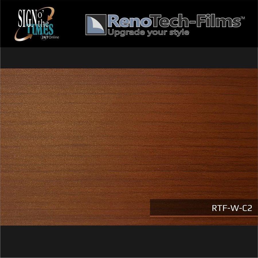 RTF-W-C2-122   Holzoptik Mahagoni strukturiert-2
