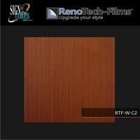 thumb-RTF-W-C2-122   Holzoptik Mahagoni strukturiert-3