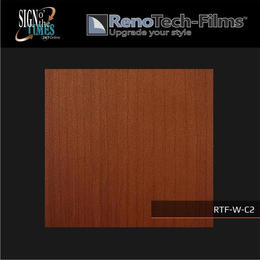 RTF-W-C2-122   Holzoptik Mahagoni strukturiert-3