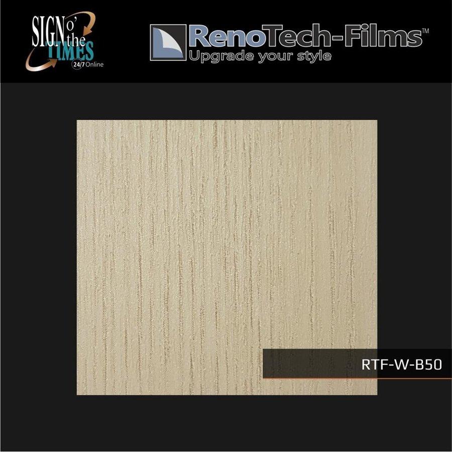 RTF-W-B50-122   Holzoptik Creme 1 strukturiert-2