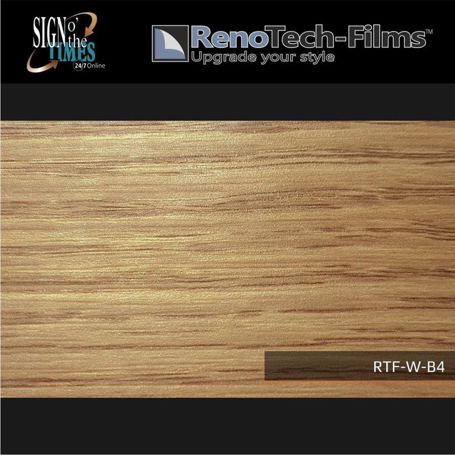 RTF-W-B4-122   Holzoptik Eiche Hell strukturiert-2