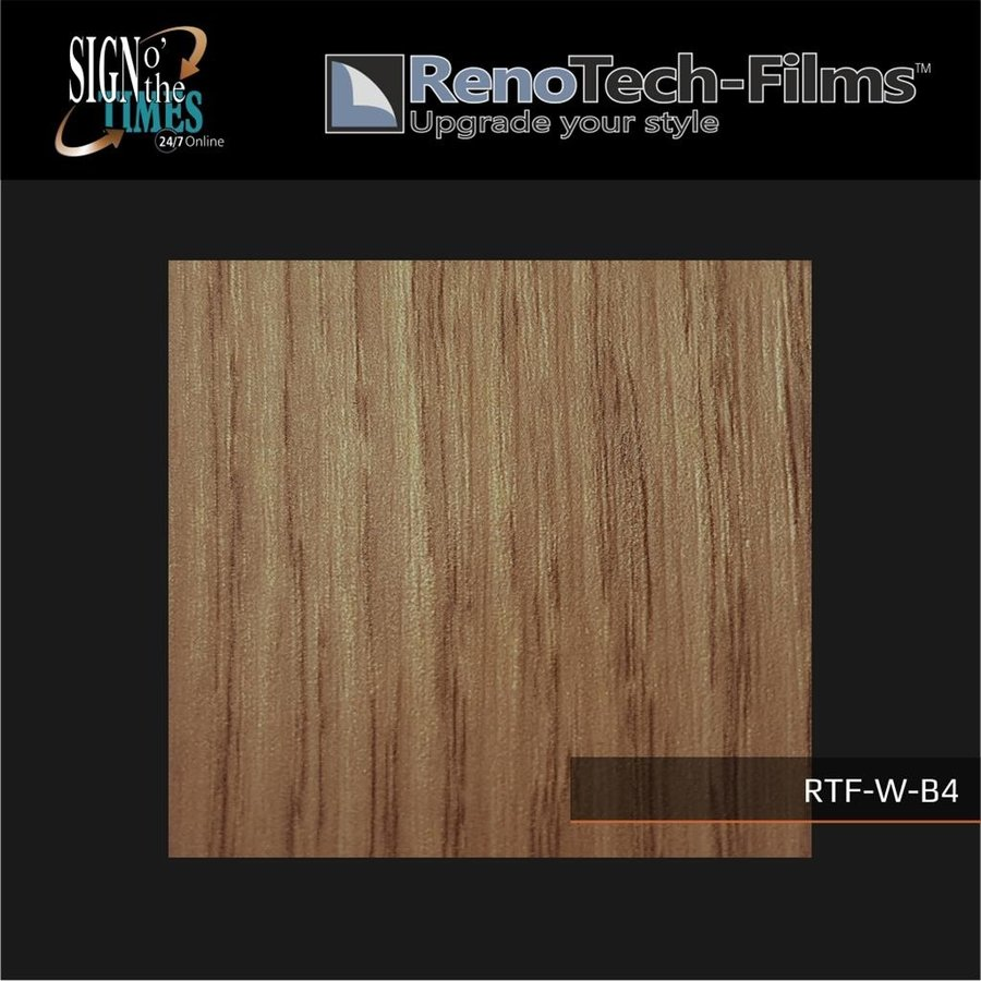 RTF-W-B4-122   Holzoptik Eiche Hell strukturiert-3