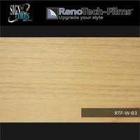 thumb-RTF-W-B3-122  Holzoptik Buche Hell strukturiert-2