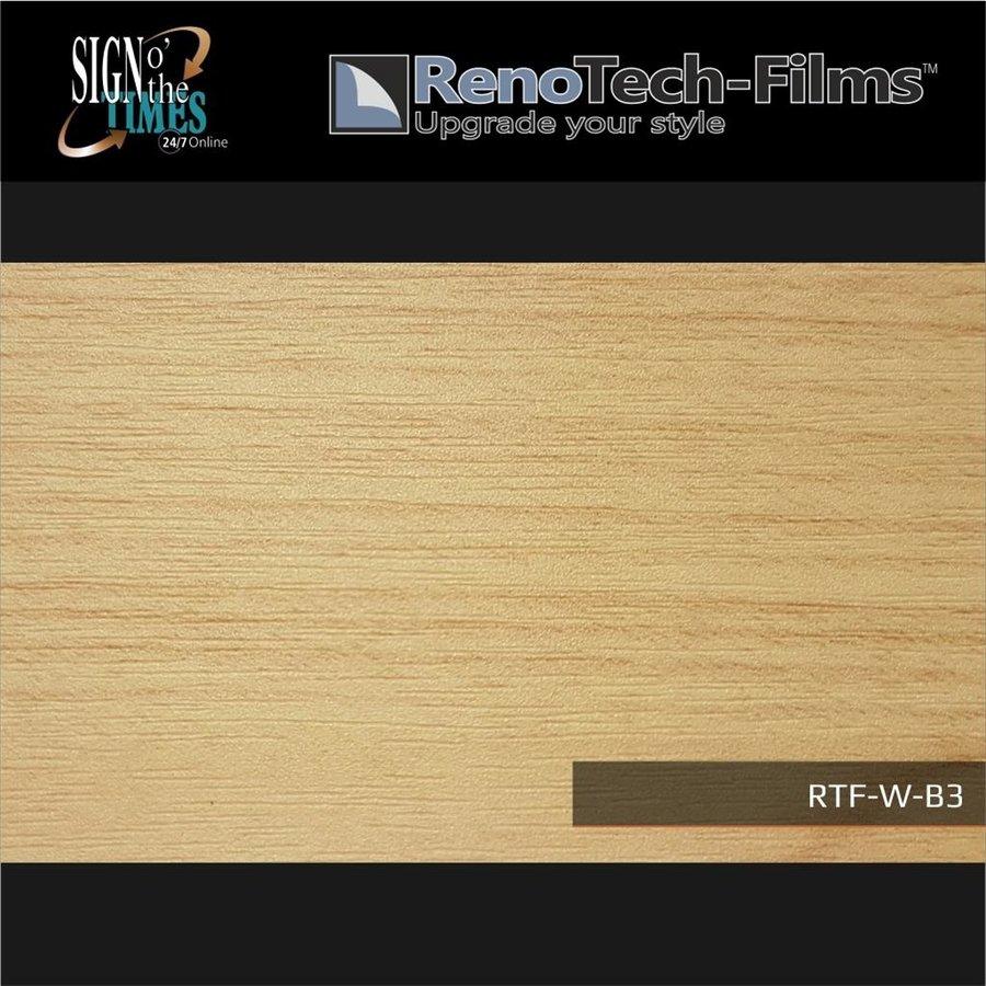 RTF-W-B3-122  Holzoptik Buche Hell strukturiert-2
