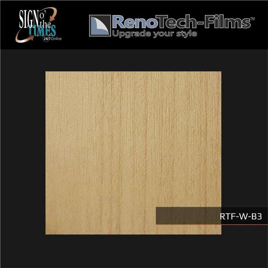 RTF-W-B3-122  Holzoptik Buche Hell strukturiert-3