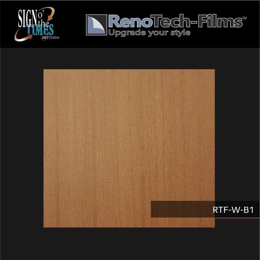 RTF-W-B1-122  Holzoptik Wenge Hell strukturiert-2