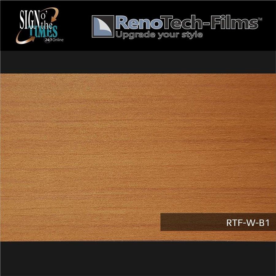 RTF-W-B1-122  Holzoptik Wenge Hell strukturiert-3