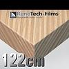 Renotech RTF-W-AL34-122   Holzoptik Goldfarbenes zusammengesetztes Holz strukturiert