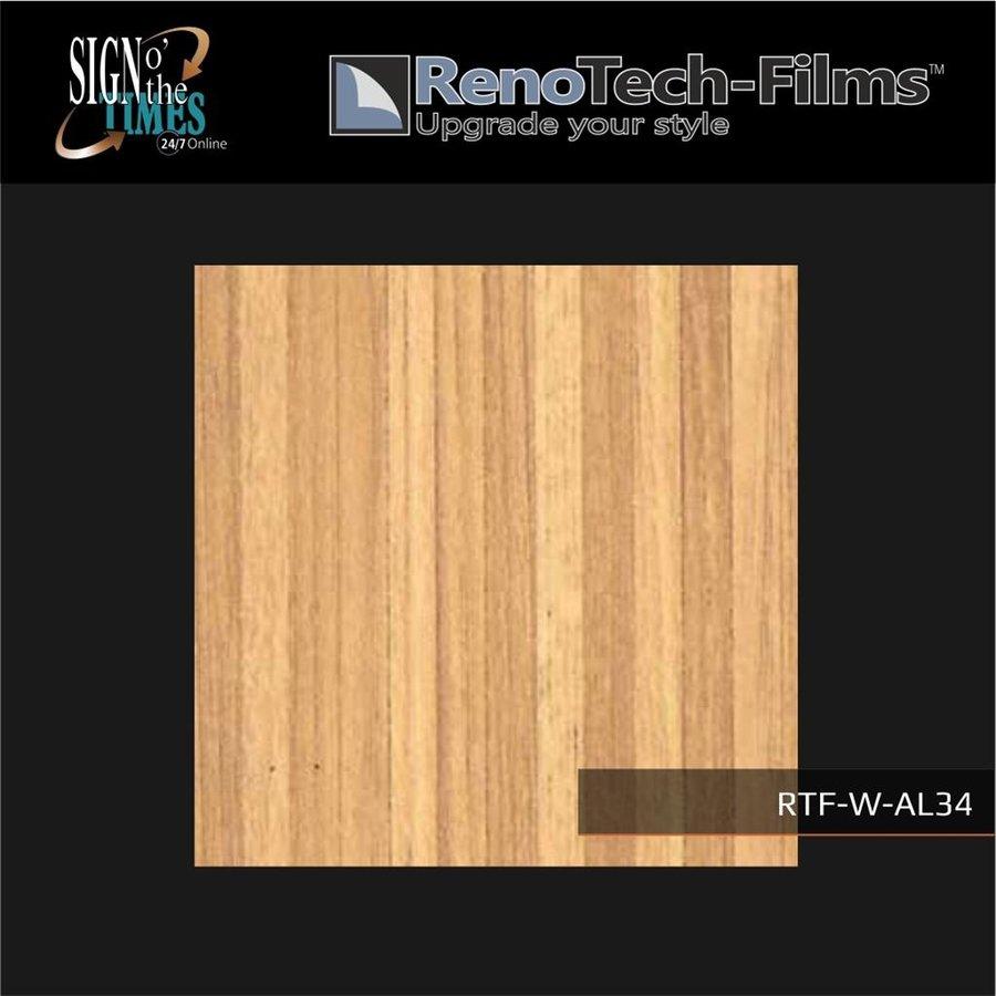 RTF-W-AL34-122   Holzoptik Goldfarbenes zusammengesetztes Holz strukturiert-2