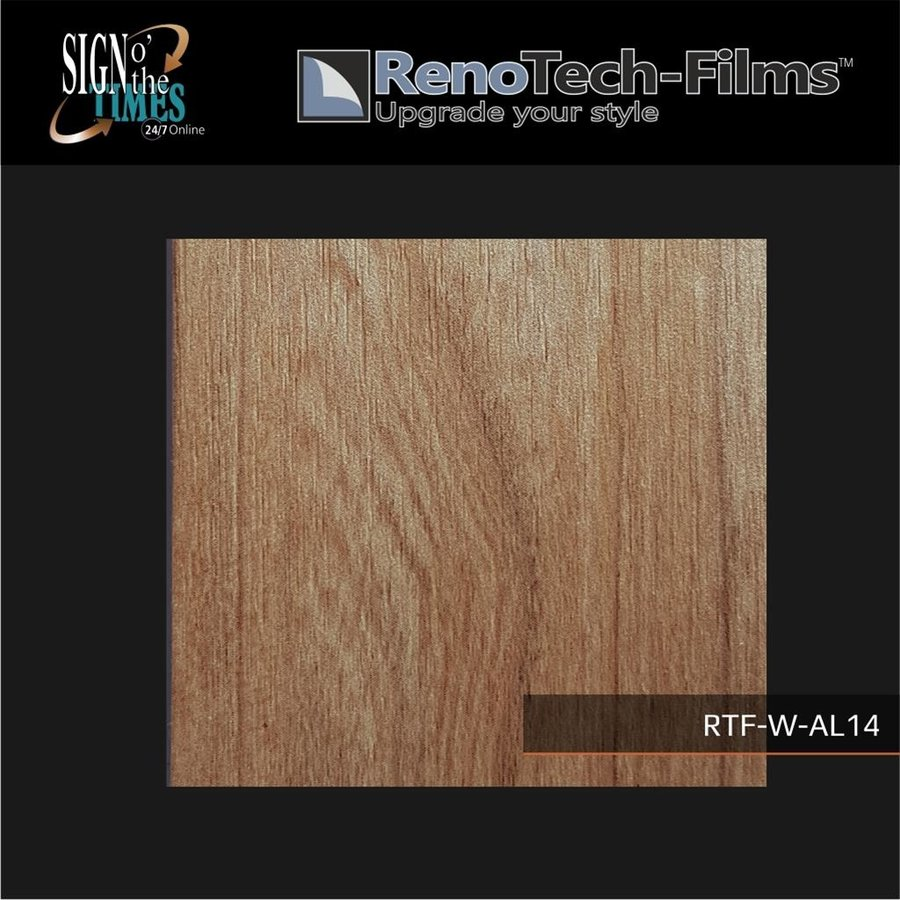 RTF-W-AL14-122 Holzoptik Traditionelle Eiche strukturiert-3